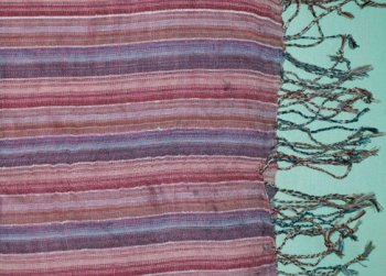 Pink and Purple Hand-woven Kenyan Scarf