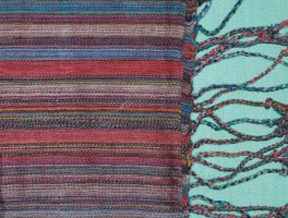 Striped Hand-woven Kenyan Scarf