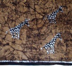 Batik Giraffe Print Textile