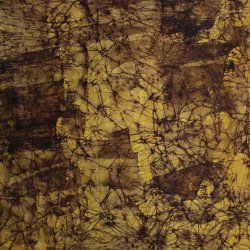 Shades of Brown Batik Fabric