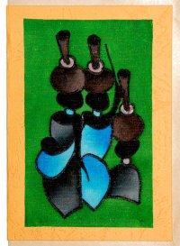 """Women Carrying Water"" Blank Greeting Card"