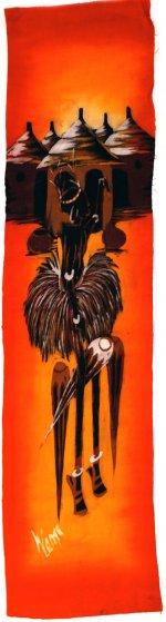 African Dancer Batik