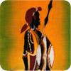 Masai Warrior Batik