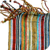 Vibrant Striped Kenyan Scarf