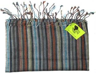 Striped Woven Kenyan Scarf