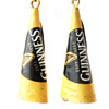 Guinness Drop Re-cap earrings