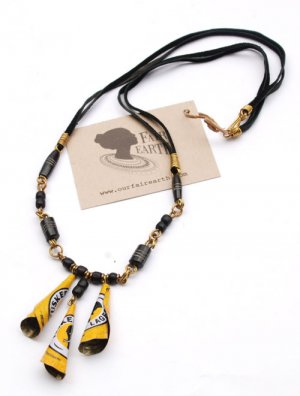 Bugle Re-cap Necklace – Tusker