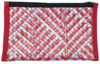 Recycled Drinking Straw Pencil Case