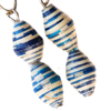 Two Bead Paper Earrings