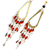 Tear Drop Earrings with Dangles