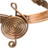 Treble Clef Copper Bracelet