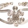 Silver Spirals Bracelet
