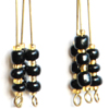 3 Rods Earrings
