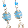 Beaded Spiral Earring