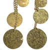 Glitter Brass Earrings