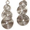 Triple Coiled Earrings