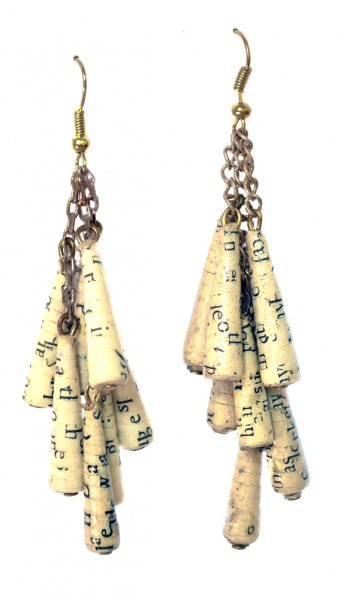 Cluster Paper Earrings