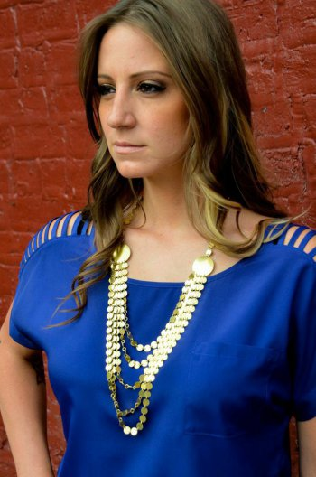 5-string Small Sequins Necklace