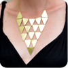 Triangle Shield Necklace