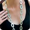 Teardrop Long Necklace